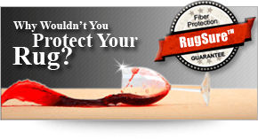 Protect your rug with RugSure™